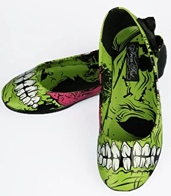 Iron Fist Zombie Stomper Flats - Zombie Shoes (6)