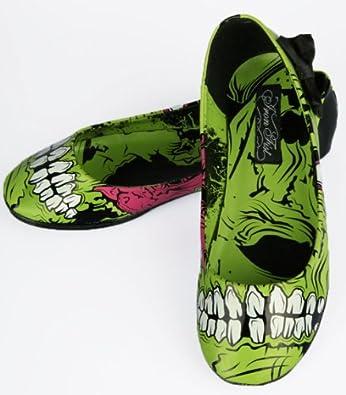 Iron Fist Zombie Stomper Flats - Zombie Shoes (8)