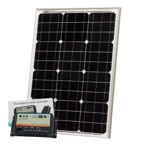50W 12V Photonic Universe dual battery solar charging kit made of BOSCH solar cells Black Friday & Cyber Monday 2014