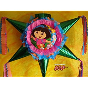 Hand Crafted Dora Pinata