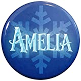 Henry the Buttonsmith Amelia Winter Ice Name Tag