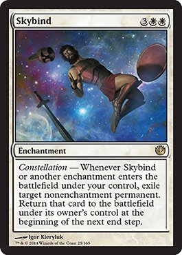 Magic: the Gathering - Skybind (25/165) - Journey into Nyx - 1