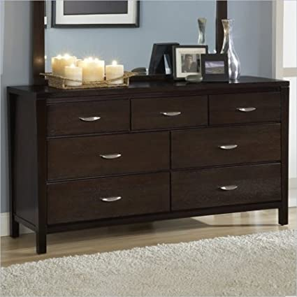Modus Furniture 2O2682 Urban Loft Seven Drawer Dresser