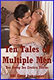 img - for Ten Tales of Multiple Men: Ten Group Sex Erotica Stories book / textbook / text book