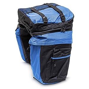 Alforjas bicicleta - Función bolsas independientes y mochila