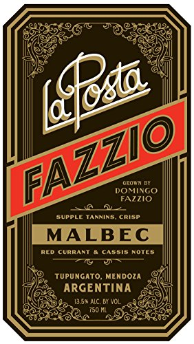 2012 La Posta Fazzio 750 Ml