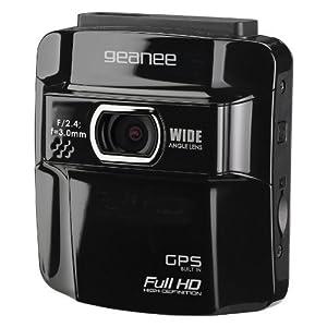 GEANEE GPS搭載フルHDドライブレコーダー (GPS機能・オービスポイント登録機能搭載 高画質 専用ブラケット付属 繰り返し自動録画)