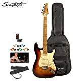 Sawtooth ST Style Electric Guitar - Includes: Accessories, Gig Bag & Lesson