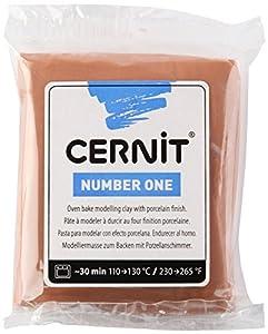 Cernit modélisation pour le four dans la couleur Caramel 56g