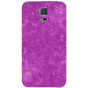 Skin4gadgets Royal English Pastel Colors in Grunge Effect, Color - Fuchsia Phone Skin for SAMSUNG GALAXY S5