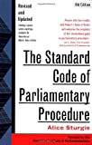 The Standard Code of Parliamentary Procedure (0071365133) by Sturgis, Alice