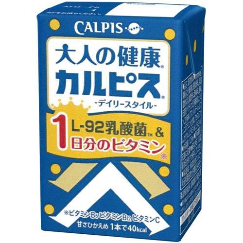 大人の健康・カルピス デイリースタイル 125ml×24本