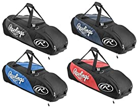 Rawlings PPWB Player Preferred Wheeled Baseball/Softball Bag
