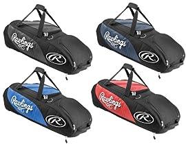 Rawlings PPWB Player Preferred Wheeled Baseball/Softball Bag