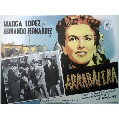 Marga Lopez Fernando Fernandez ARRABALERA Mx lobby '50