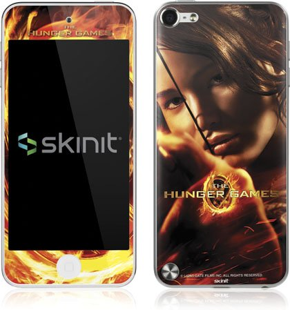 Skinit The Hunger Game -Katniss Bow & Arrow Vinyl Skin for Apple iPod Touch (5th Gen/2012)