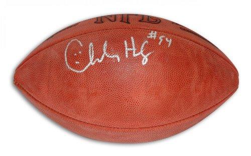 Charles Haley Autographed Football - Autographed Footballs