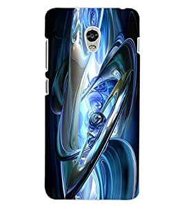 ColourCraft Abstract Image Design Back Case Cover for LENOVO VIBE P1