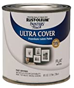 Rust-Oleum 1990730 Painters Touch Latex, Flat White