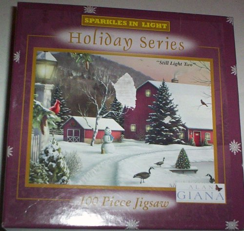 Alan Giana Sparkles in Light Holiday Series - Still Light Two (100 Piece Puzzle)