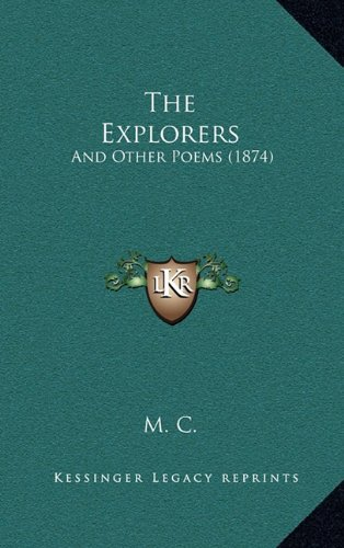 The Explorers: And Other Poems (1874)