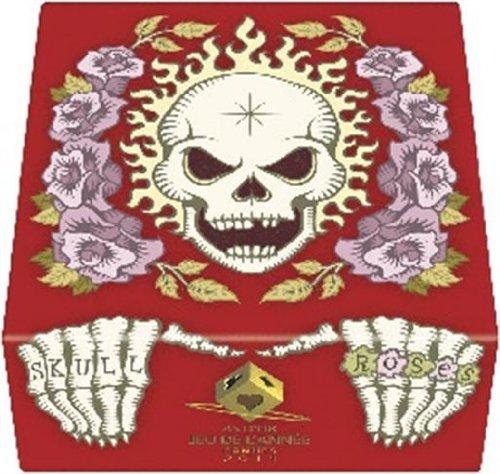 髑髏と薔薇:赤箱 (Skull & Roses Red)