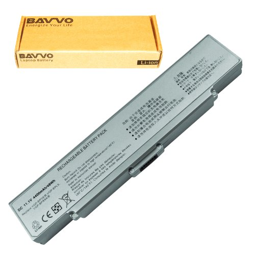Click to buy SONY VAIO VGN-CR490EBW Laptop Battery - Premium Bavvo® 6-cell Li-ion Battery - From only $34.98