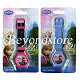 Disney Frozen Sets of Elsa and Anna LCD Watches Party Favor
