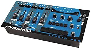 Pyramid PM4800 4 Channel Rack Mount Stereo Dj Mixer with Sound Effects