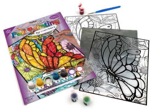 Royal & Langnickel Foil by Numbers Painting Kit, Butterflies - 1
