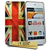 Accessory Master Hard Shell for iPod Touch 5 Silicone Gel Union Jack Design Vintage Retro