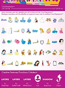 Cricut Disney Cartridge, Happily Ever After