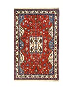 Eden Alfombra Gabbeh Rojo/Azul 104 x 160 cm