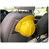 Over The Seat Rack Hard Hat Car Truck Mount