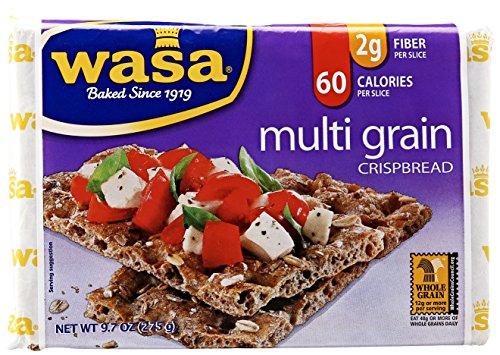 Wasa, Multi Grain Crisp Bread, Fat Free, 9.7 oz (Crispy Rye Bread compare prices)