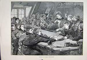 Copie 1887 De D Ner D 39 Hommes De Bateau De Formation De