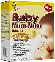 Mum Mum Rice Biscuits - Banana - 176 oz