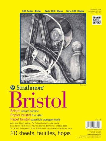 strathmore-bristol-vellum-paper-pad-11x14-20-sheets