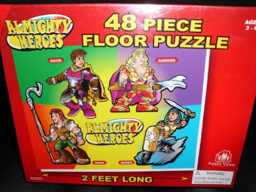 Puzzle-Almighy Heroes Floor-48 Pc