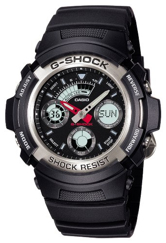 STANDARD G-SHOCK G Shock analog / digital combination models Mens Watch AW-590-1AJF [Casio] CASIO
