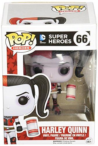 Funko - Figurine Dc Comics - Harley Quinn Roller Derby Exclu Pop 10Cm