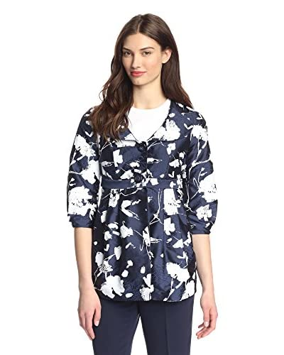 Bigio Collection Women's Floral Print Jacket