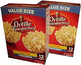 Orville Redenbacher39s Single Serve Butter Flavor Popcorn 12 Ct 2 Pack
