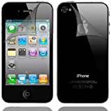 3 X SCREEN PROTECTOR For Apple iPhone 4 4G HD 16GB & 32GB - FRONT AND BACK FULL BODY PROTECTORS VALUE PACK