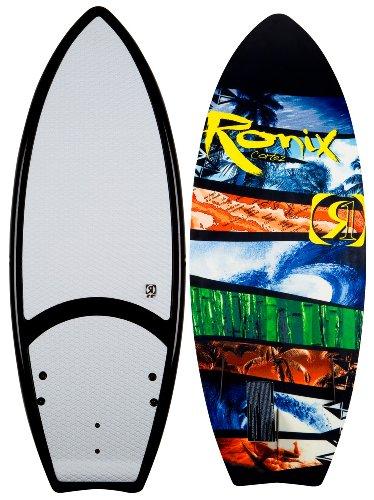 Ronix Cortez Wakesurf Board White/Green/Yellow/