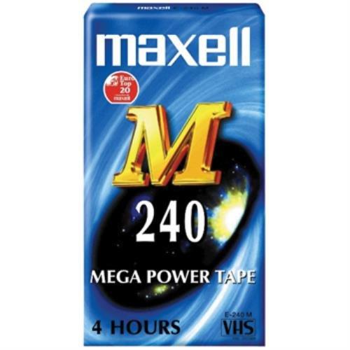 Maxell M-240 cassette vierge