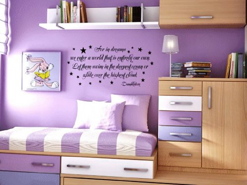 For In Dreams We Enter A World That Is Entirely Our Own Dumbledore Vinyl Wall Decal front-703641