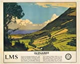 Irish Poster, Glenariff, County Antrim, Northern Ireland