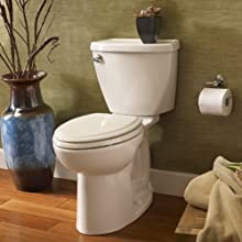 American Standard Cadet-3 FloWise Toilet Tank with Coupling Components and Trim