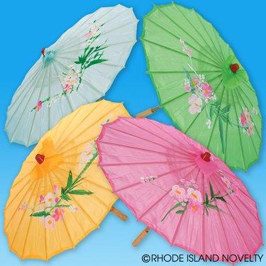 Silk Wooden Parasol
